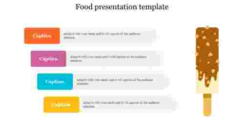 food presentation template