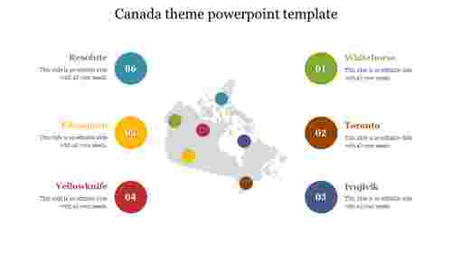canada theme powerpoint template