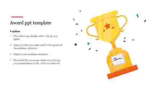 award ppt template free download