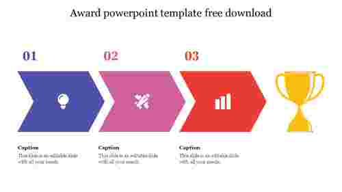 award powerpoint template free download