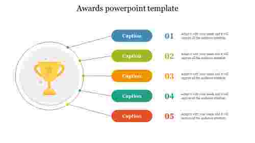 awards powerpoint template free