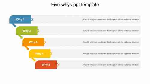 5 whys ppt template