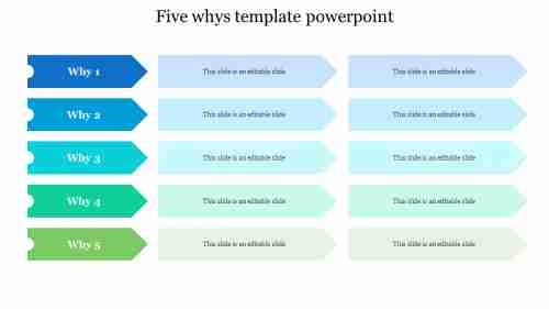 Simple%205%20Whys%20Template%20PowerPoint%20Free%20Download