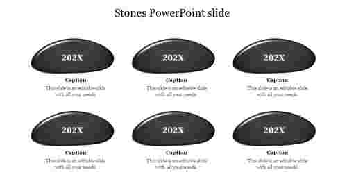 Stones PowerPoint slide