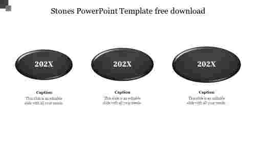 Stones PowerPoint Template free download