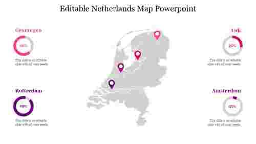 Editable%20Netherlands%20Map%20Powerpoint%20slide