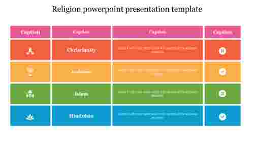 Religion%20powerpoint%20presentation%20template%20with%20table%20model