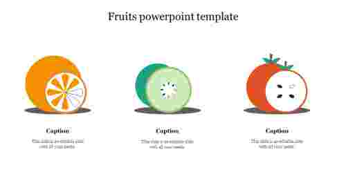 Fruits powerpoint template