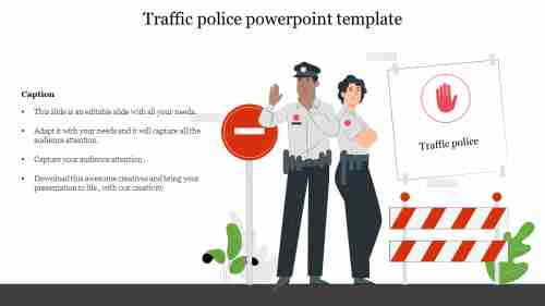 Innovative%20Traffic%20police%20powerpoint%20template
