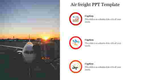 Editable%20Air%20freight%20PPT%20Template
