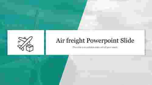 Editable%20Air%20freight%20Powerpoint%20Slide