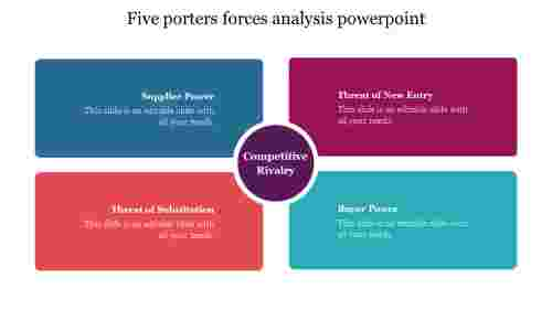 Simple%20five%20porters%20forces%20analysis%20powerpoint%20template%20free%20download