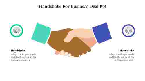 Handshake For Business Deal Ppt