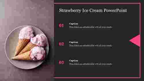 Strawberry%20Ice%20Cream%20PowerPoint%20design