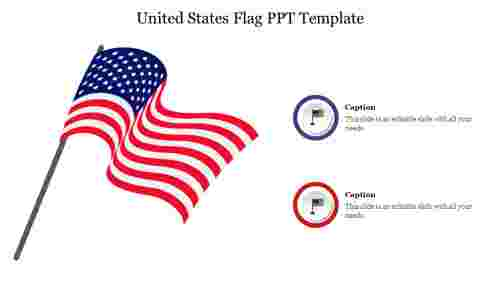 Creative%20United%20States%20Flag%20PPT%20Template