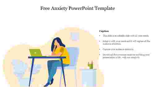 Free Anxiety PowerPoint Template