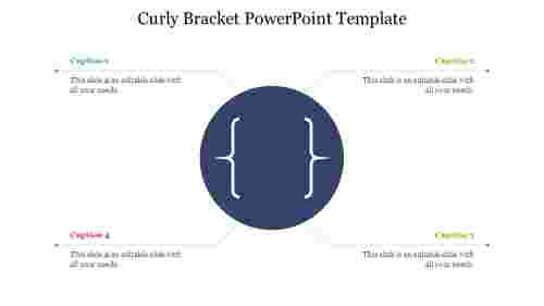 Curly%20Bracket%20PowerPoint%20Template%20For%20Presentation