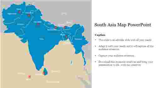 Creative%20South%20Asia%20Map%20PowerPoint