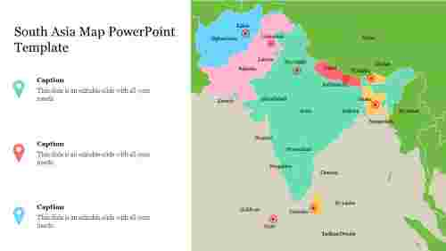 Best%20South%20Asia%20Map%20PowerPoint%20Template