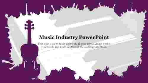Editable%20Music%20Industry%20PowerPoint