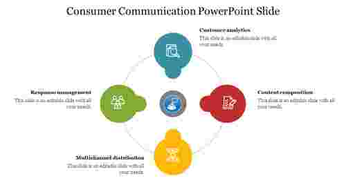 Consumer%20Communication%20PowerPoint%20Slide%20with%20circle%20design