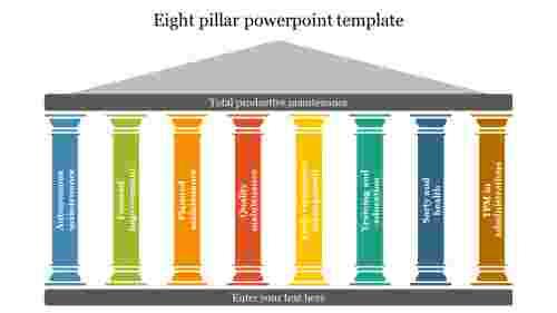Eight%20pillar%20powerpoint%20template%20Presentation