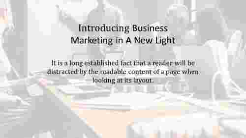 business marketing strategy template for introduction