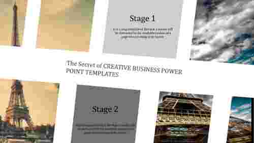 creative business power point template