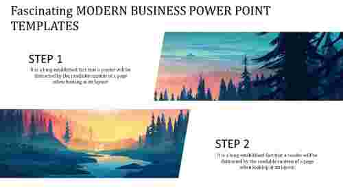 modern business power point templates