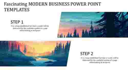 modern business power point templates