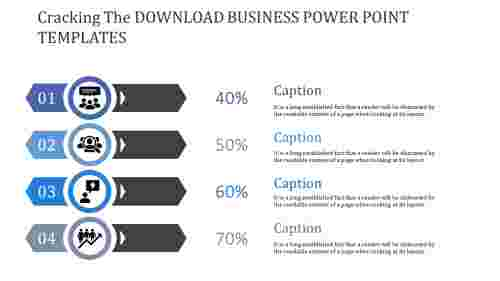 Master The Skills Of Download Business Powerpoint Template And Be Successful.