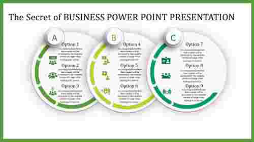 business power point presentation-The Secret of BUSINESS POWER POINT PRESENTATION