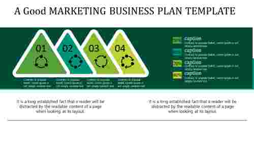 Quality marketing business plan template