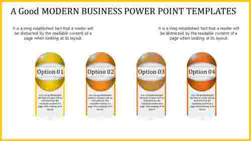 Innovative modern business power point templates