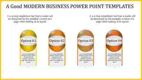 Innovative modern business power point templates