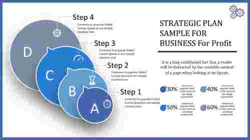 strategic plan sample for business with non-circular