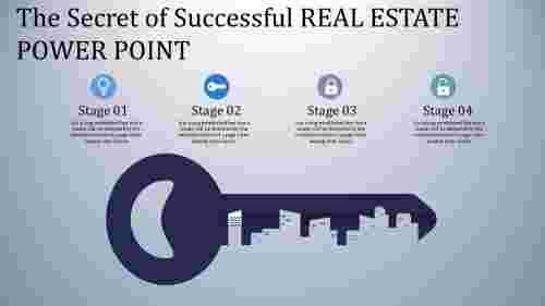 real estate power point - key model