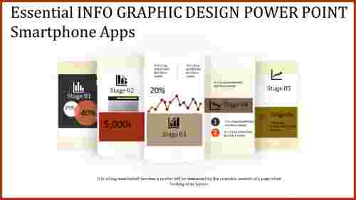info graphic design power point - mobile model
