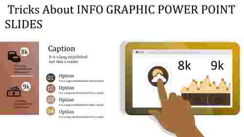 A nine noded info graphic power point slides