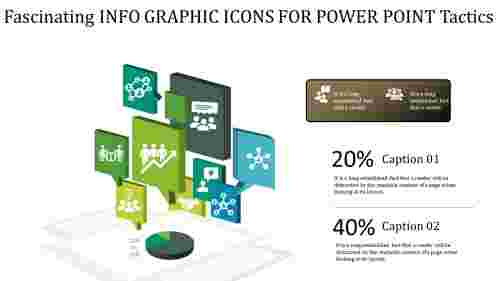 info graphic icons for power point - perspective  model