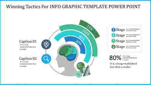 efficient info graphic template powerpoint
