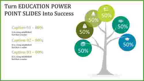 education power point slides - tree model