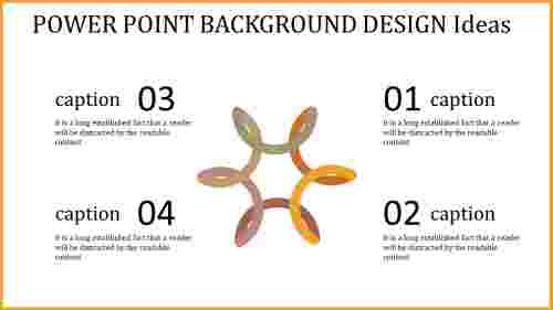Innovative power point background design