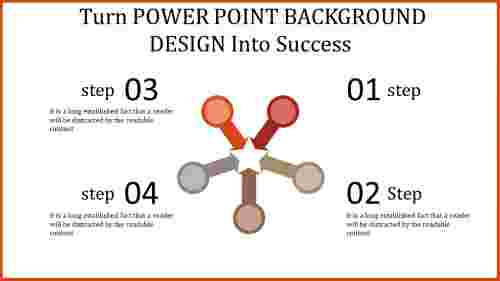 power point background design with multi-shape