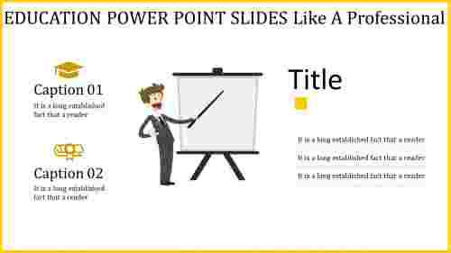Teaching image education power point slides