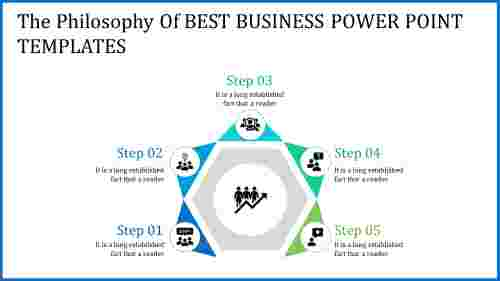 Hexagonal best business PowerPoint templates