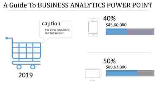 bar chart Business analytics powerpoint