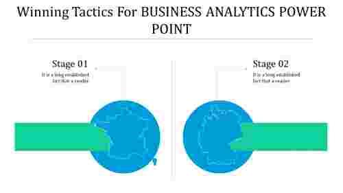 business analytics power point - globe