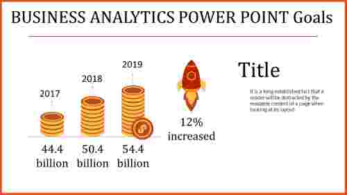 business analytics power point - rocket