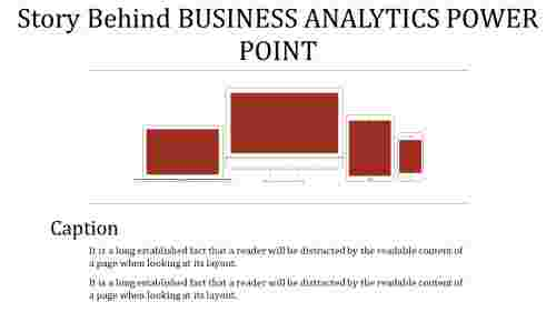 business analytics power point - dimensions